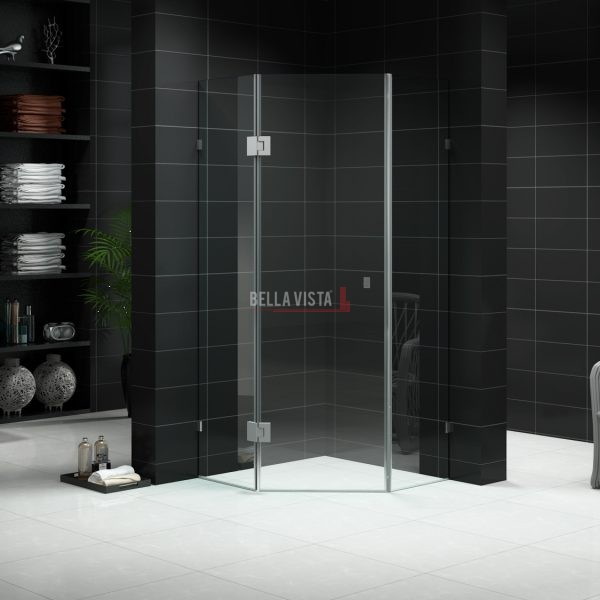 Are You Planning On Changing Your Bathroom Style? The Diamond Frameless  Shower Screen Gives You Modern Elegance In Your Bathroom. A Diamond Frameless  Shower ...