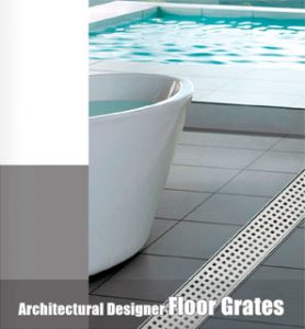 Bella Vista Architectural Shower Grate