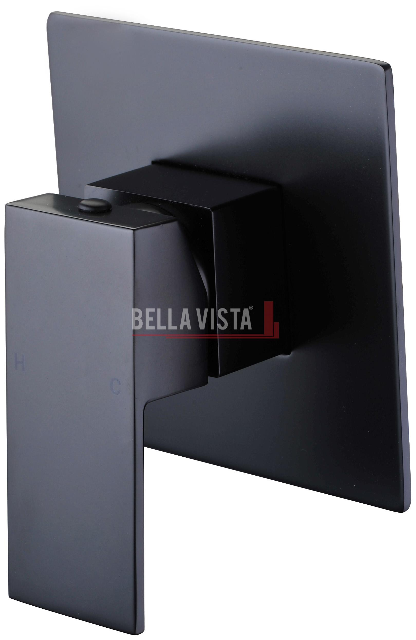 Deko Black Square Shower / Bath Mixer