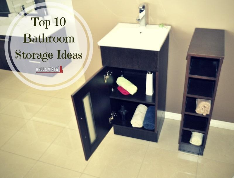 10 Bathroom Storage Ideas