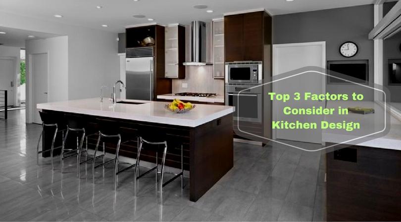 3 factors to consider in kitchen design plan bella vista for Kitchen design program