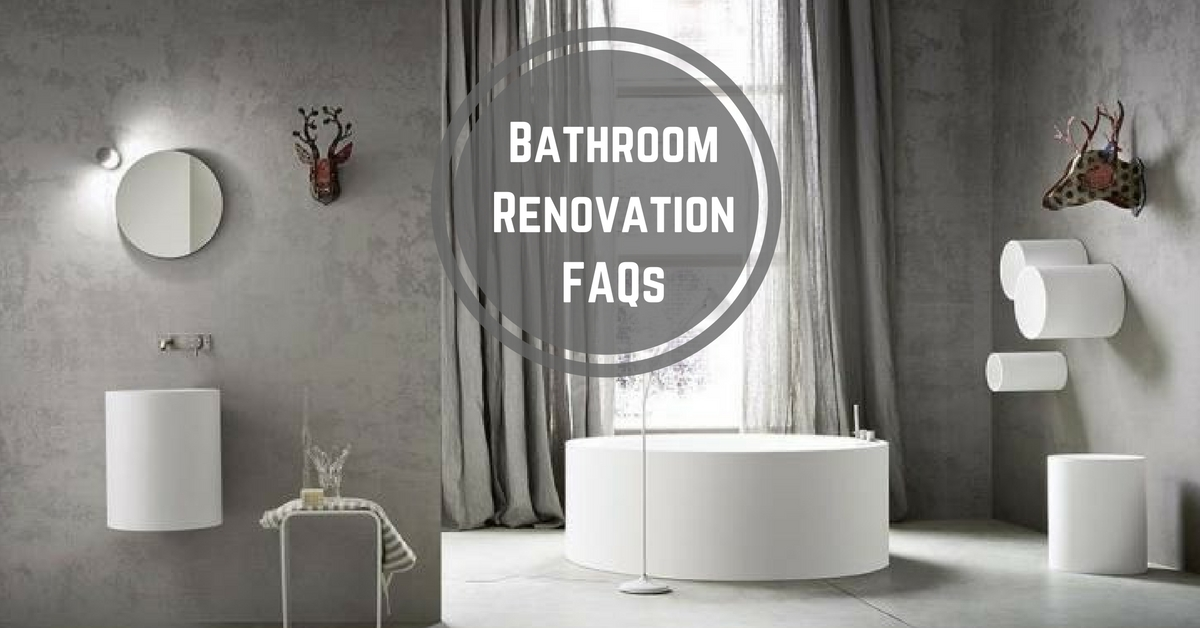 bathroom renovation questions