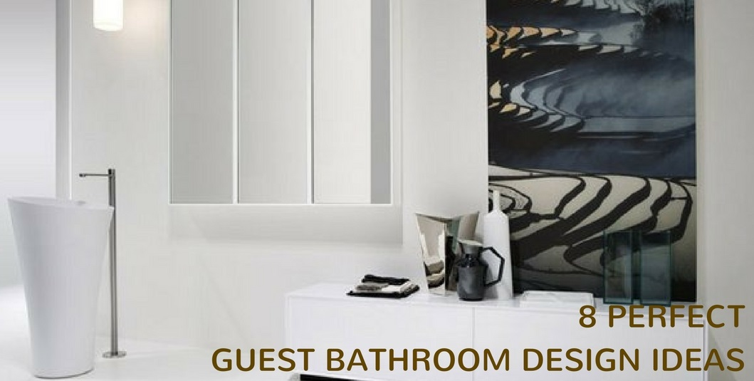 guest bathroom that s satisfying the needs of your guests whenever