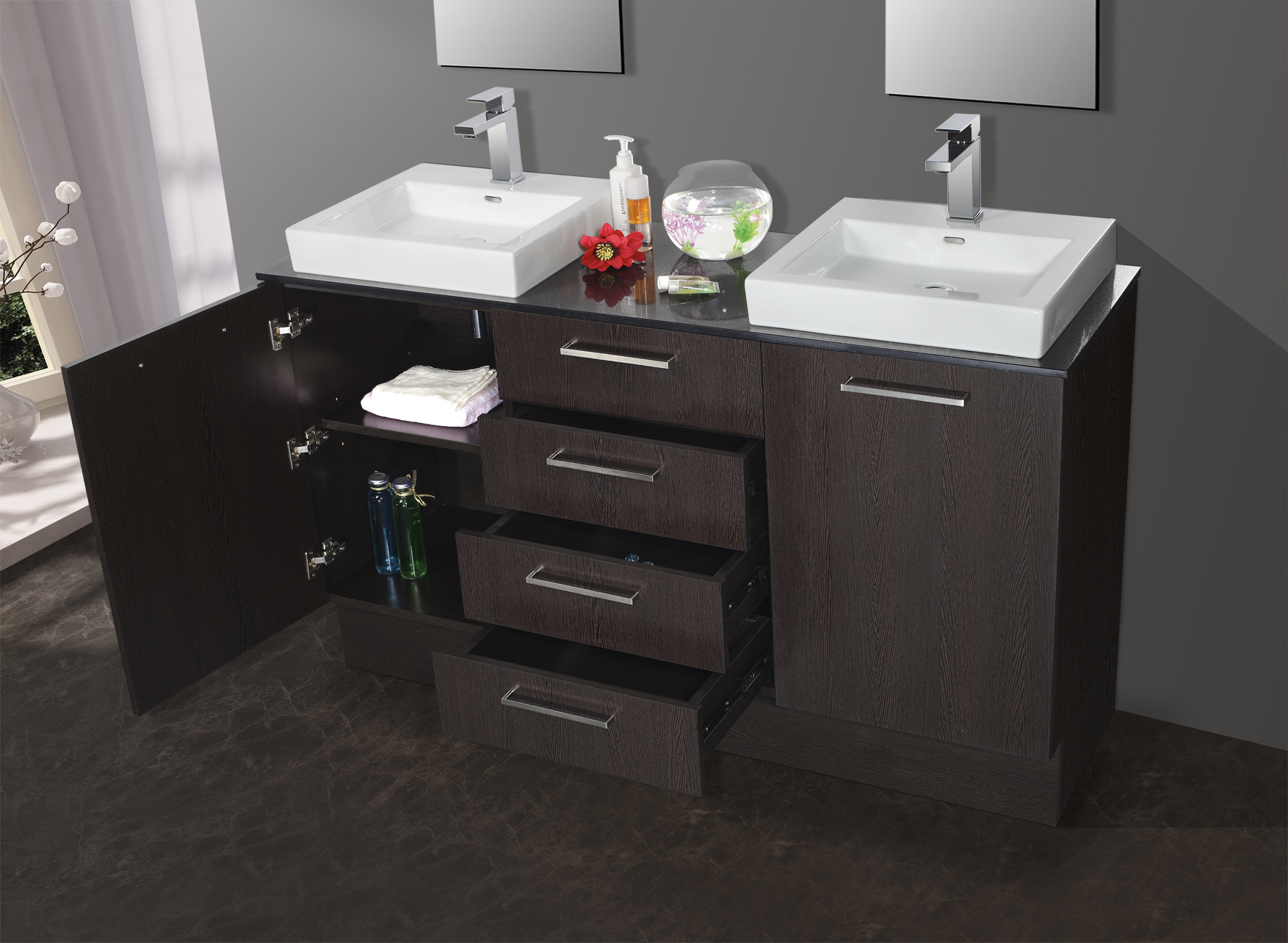 Double Bathroom Vanity Basins Good Choice Or Bad Option