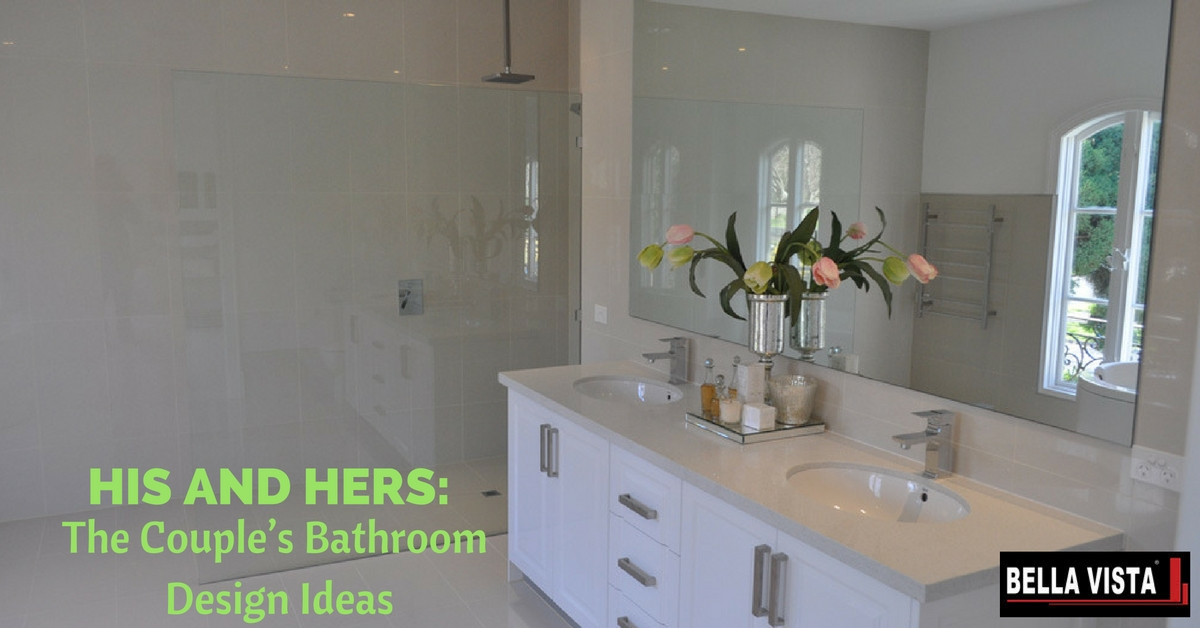 couple's bathroom design ideas