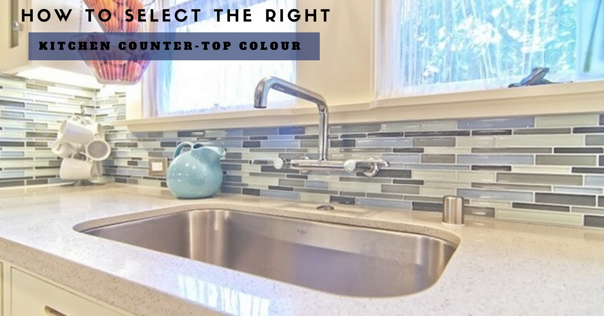 How to Select the right Kitchen Countertop Colour