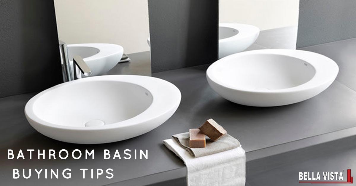 Bathroom Basins Buying Tips