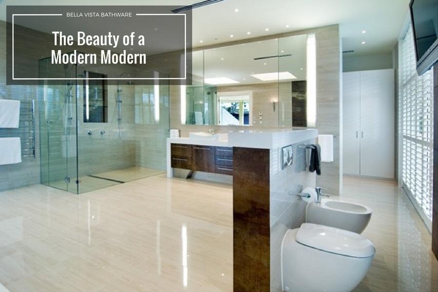 The Beauty of a Modern Bathroom Design