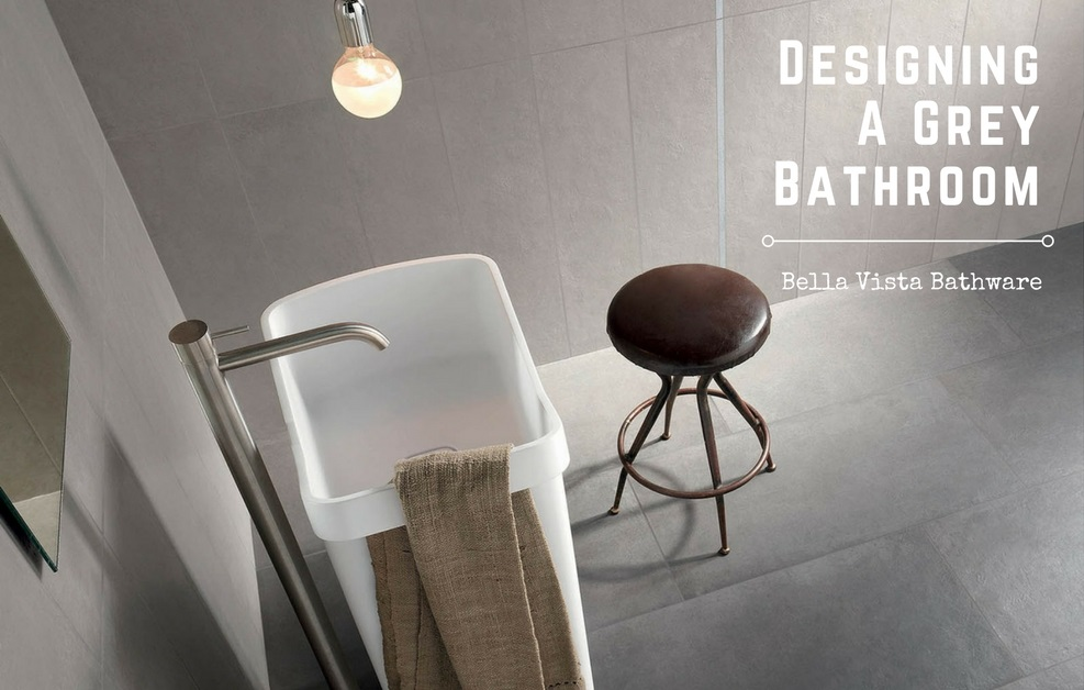 Grey Bathroom Colour