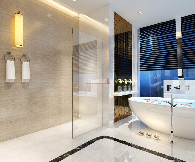 Fully Frameless Walk in Shower Screen Fixed Panel Nano Glass 2100mm Height Multiple Sizes