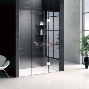 Front Only Frameless Shower Screen 2400mm