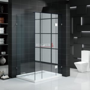 Custom Fully Frameless Shower Screen - Front and Return - Multiple Sizes