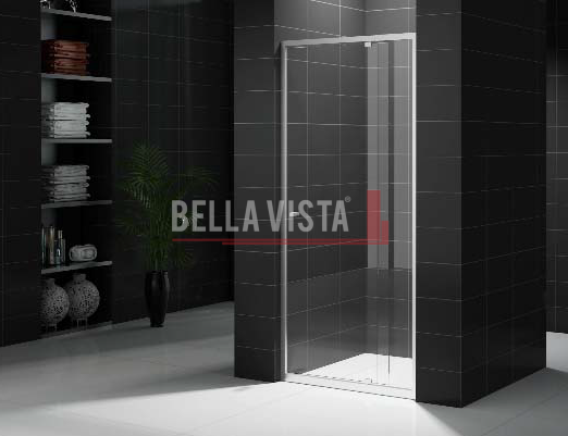 Front Only Semi Frameless Shower Screen