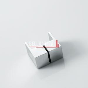 SQL_Web Bella Vista Handle - Square Lever (Finger Pull) Knob