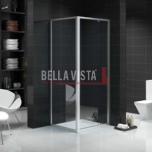Semi Frameless Shower Screen – Front and Return - Multiple Sizes