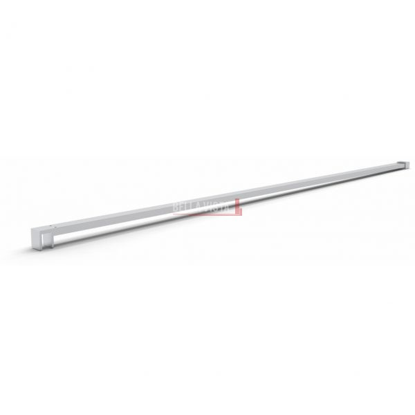 TPSW Stabiliser - Heavy Duty - Square to suit Shower Screen up to 1500mm Long