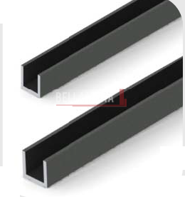 Square Lever Black Knob Handle