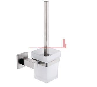 Square Toilet Brush and Holder