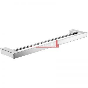 1448D-600 bella vista Chunky Double Towel Rail 600 or 750 or 900mm