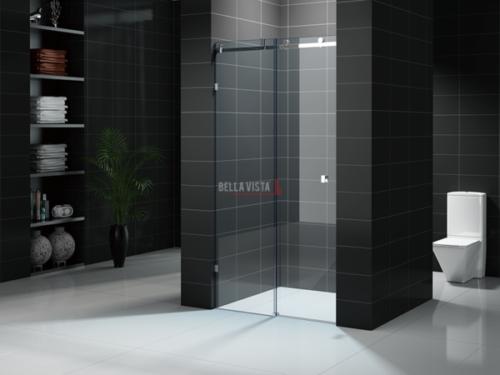 Custom Fully Frameless - Sliding Shower Screen - Front Only - Multiple Sizes
