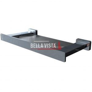 bella vista Contemporary Design Glass Shelf 300 600mm