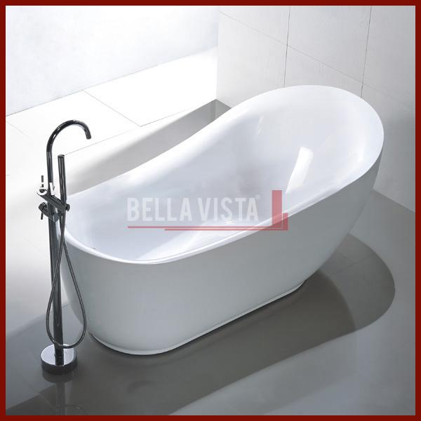 Brunswick Acrylic Bath oval Shape 1800mm