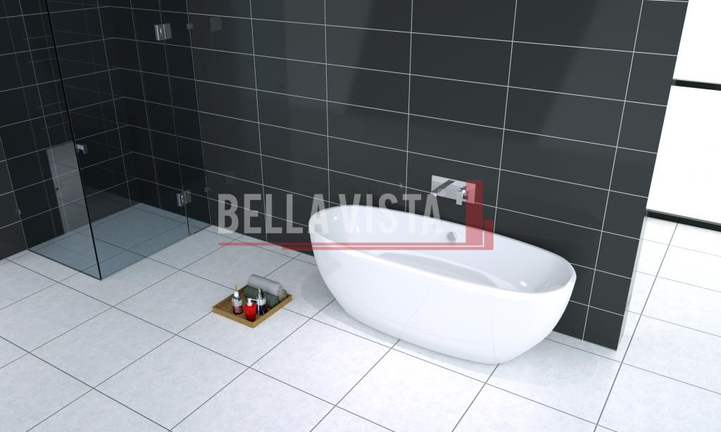 Bonita Acrylic Bath Oval Shape 1500mm Bella Vista