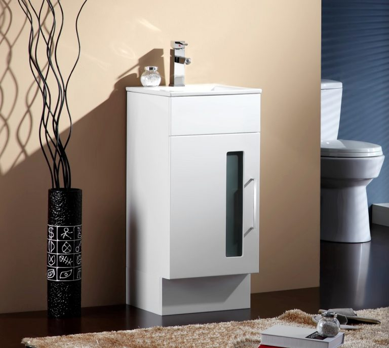 Lamour Vanity White 410mm Ceramic Basin