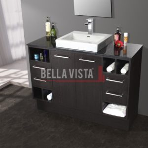 Riva Vanity Wenge Finish 1200mm Single Basin