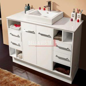 Riva Vanity White 1200mm Single Basin