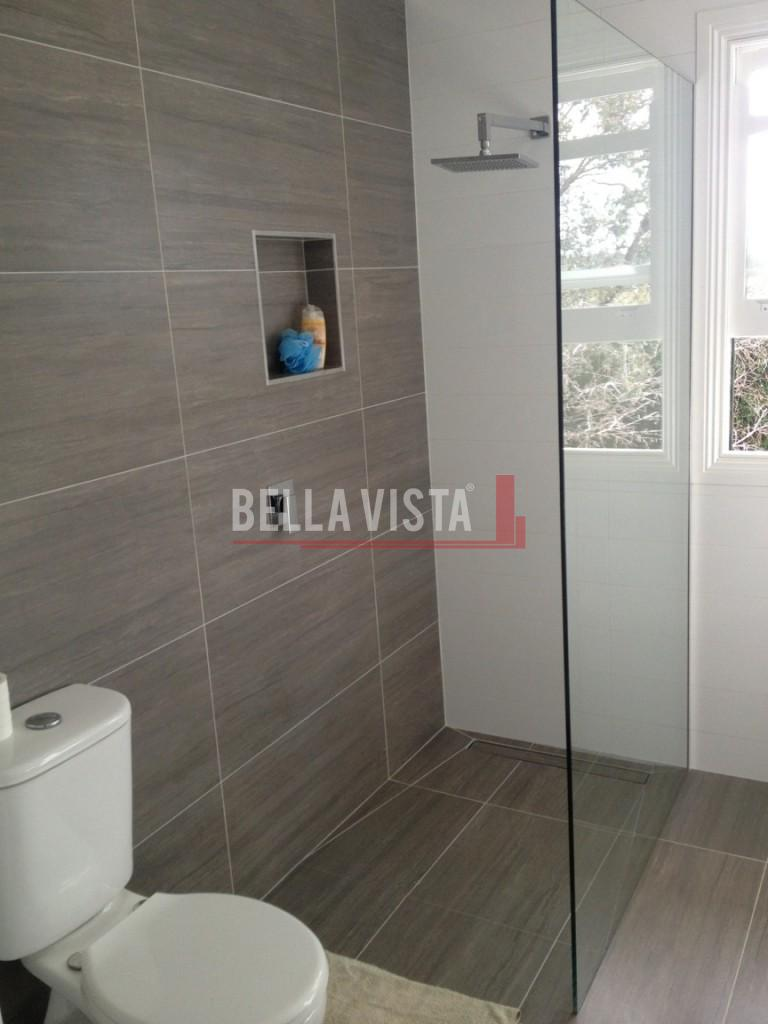 Crystal Clear Frameless Shower Panel 897 x 2000 x 10mm
