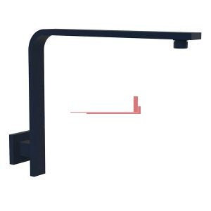 bella vista Goose Neck Wall Shower Pipe Deko Square
