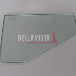Glass Corner Shelf 250 x 180mm