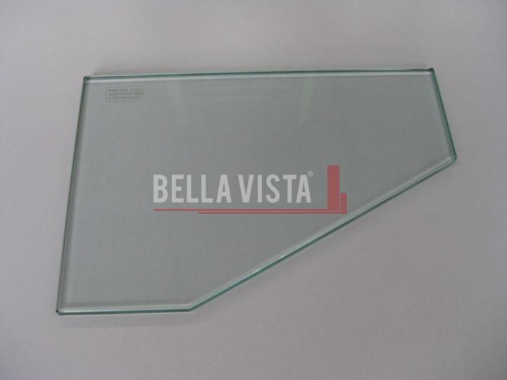 Glass Corner Shelf 350 x 250mm