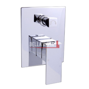 bella vista Shower and Bath Mixer with Diverter Deko Square