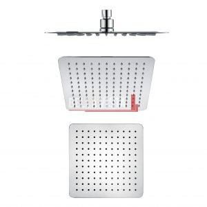 bella vista Shower Head Rainfall Stainless Square 250mm / 300mm / 400mm