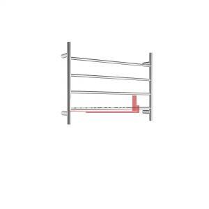 bella vista Towel Ladder Round 700 x 500mm