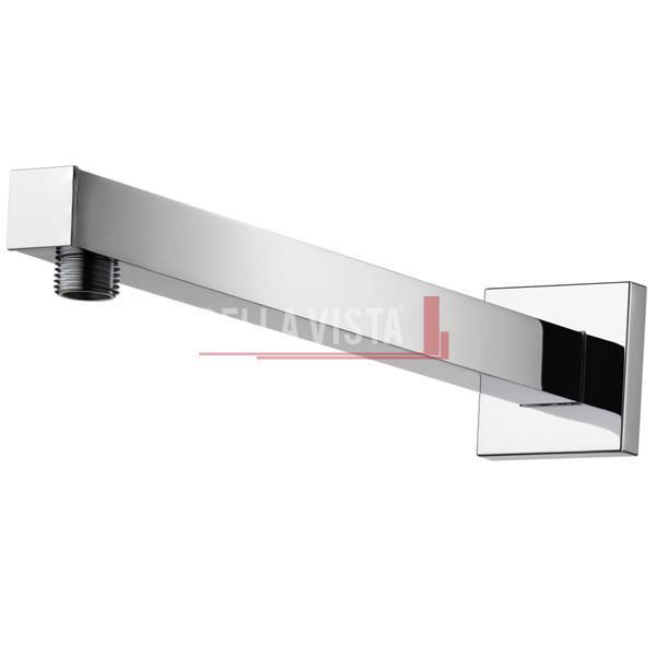 Deko Wall Shower Pipe 450mm Square