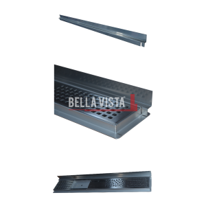Z-BAR Three Pic bella vista Flashing Bar 600, 800, 900, 1000, 1100, 1200, 1500 and 1800mm and Sides (Mini-Z)