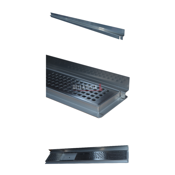 Z-BAR Three Pic bella vista Flashing Bar 600, 800, 900, 1000, 1100, 1200, 1500 and 1800mm and Sides (Mini-Z)