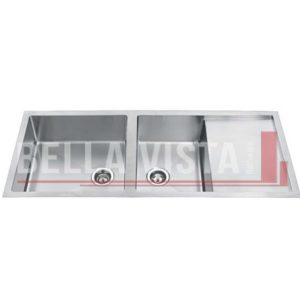 1 and 1/2 Bowl with Drainboard Stainless Kitchen Sink