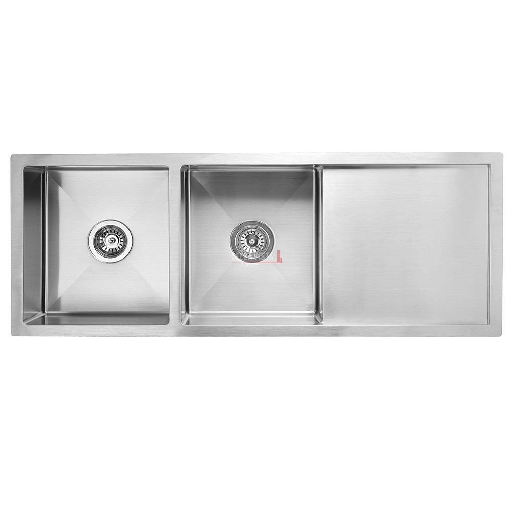 Double Bowl With Drainboard Stainless Kitchen Sink Bella Vista