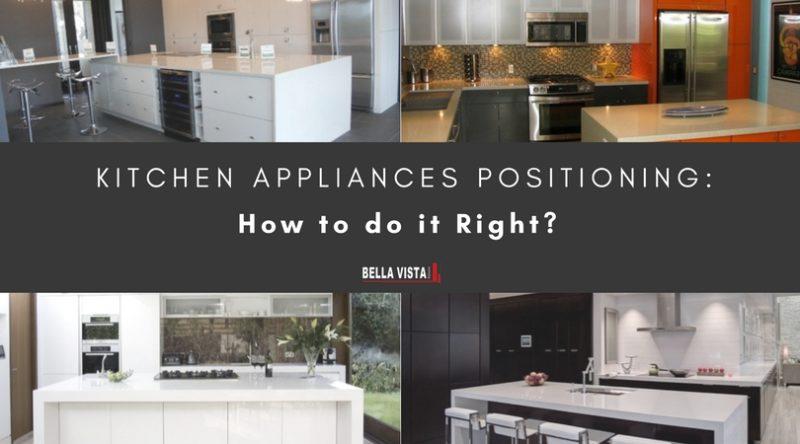 Kitchen Appliances Positioning