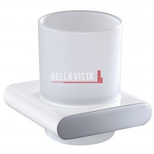 bella vista Single Tumbler Holder Curved