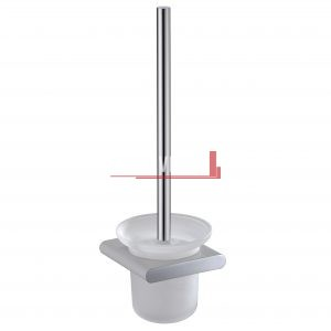 bella vista Toilet Brush and Holder Curved