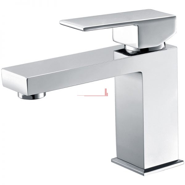 Bella Vista Basin Mixer Deko Square Solid