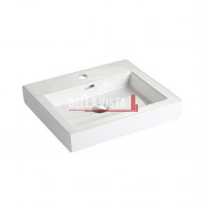 Bella Vista Ceramic Basin 470x420x118mm