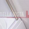 Bella Vista Fully Frameless Over Bath Every Day Double Swinging Bath Screen 1000mm