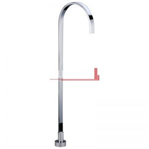 Bella Vista Floor Bath Spout Deko Square